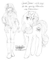 Sunset Shimmer outfit studies 001 by meto30