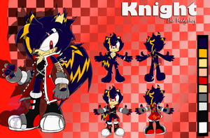 ::Reference:: Knight the Hedgehog by m1tchi3Du5k
