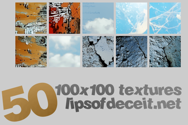 50 Icon Textures by lipsof-deceit