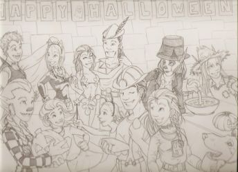 Halloween 2009 by CoyotesLaugh