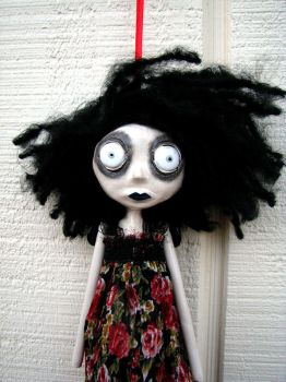 Fleur Sauvage art doll ornie by Miss-Millificent