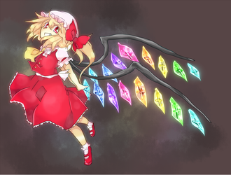 Jumping Flandre by farichada