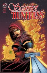 Scarlet Huntress issue 1 homage reprint