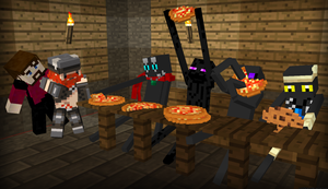 Pizza Party by LockRikard