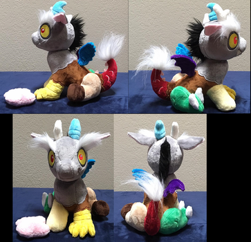Baby Discord Plushie Group by Drachefrau
