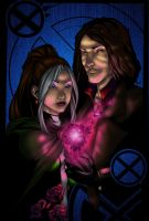 Gambit and Rogue by TheRealSurge