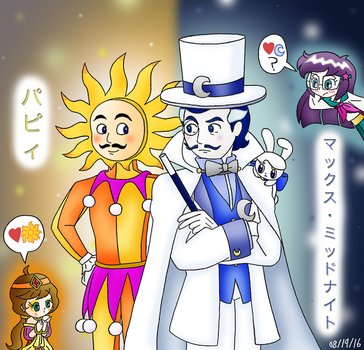 Popee the Performer - Polar Opposite StepBrothers by dannichangirl