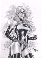 Miss Marvel by Fredbenes