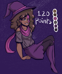 Witchy Adopt(CLOSED) by PaperKnite