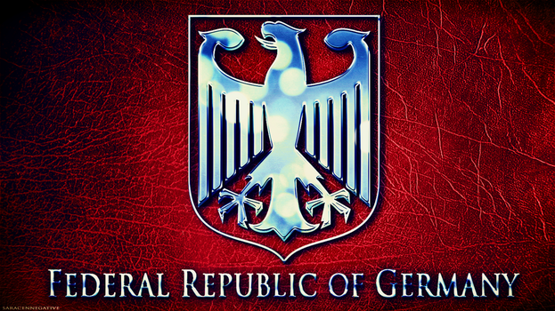 Germany Coat Of Arms -New Style by saracennegative