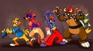Halloween Bunch by TheDoggyGal