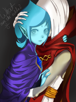 Ghirahim + Fi - Zelda: Skyward Sword by iluvmpiche