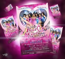 Bad Girls Club Poster by LaxDesign