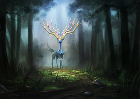 Xerneas correct version by Dekus