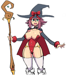 Generic lewd mage by ayaiken