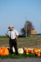 Pumkin Farmer by El-Sharra