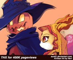 400000 Pageviews by aun61