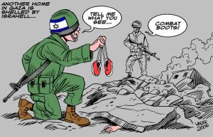 The Killing Fields of Gaza by Latuff2