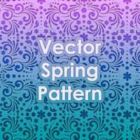 Vector Spring Pattern by Design-Maker