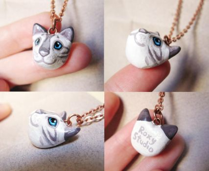 Kitty Pendant by Roxo89