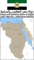 Greater Egypt, 1327 HE (1910 AD) by Mobiyuz