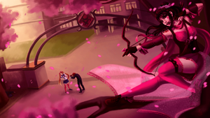 Lethal Matchmaking (Yandere Simulator Fan Art) by YorieOfTheCastle
