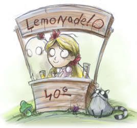 When life gives you lemons by PixelRaccoon