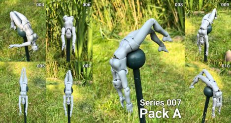 S007F Pack A by BJD-poses