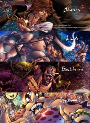 YONKO or The 4 EMPERORS One Piece by marvelmania