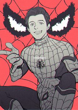 Spidey by kanapy-art