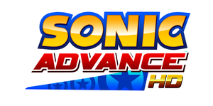 Sonic Advance HD Logo by NuryRush