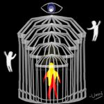 Soul trapped inside infinite cages