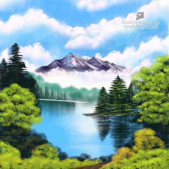 Mystic mountain by Buho01