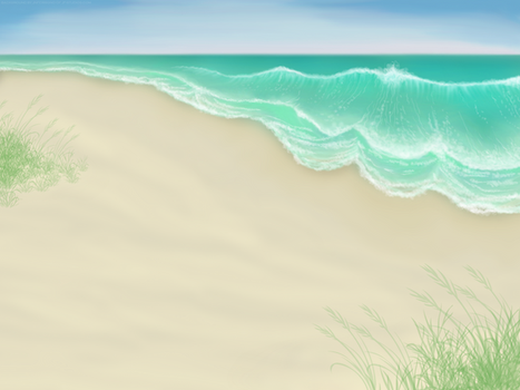 Beach Background by JNFerrigno