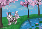 Cherry Tree Paradise by nitefallen