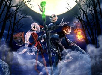 Nightmare Before Christmas by Stifler41