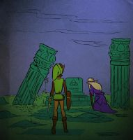 Zelda: King's Tomb by rondell