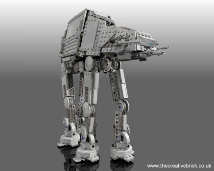 Lego Set 8129 Star Wars AT-AT Walker by thecreativebrick