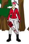 College Football Fangirl Woodcutter Wisconsin by Usaporkchops