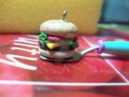 Clay Cheeseburger by lenneheartly