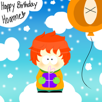 HBD Hoanne! by TweekPark