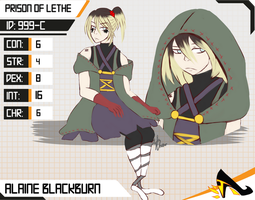 Prision of Lethe: Alaine by FeatheryJustice