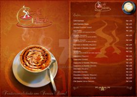 Coffee Shop Menu: Cafe Galeria by Abducted47