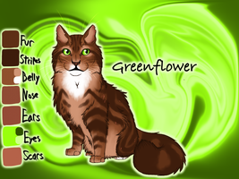 Greenflower of RiverClan - Forest of Secrets by Jayie-The-Hufflepuff