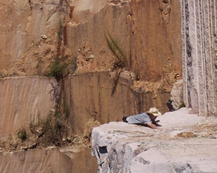 CautionHighLedges-quarry1 by peirrin
