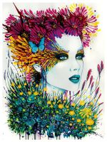 Lady Bouquet by PixieCold