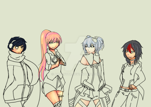Love Me if you can cover art WIP by Amai-Yuta