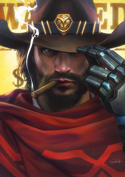 Mccree by yinyuming