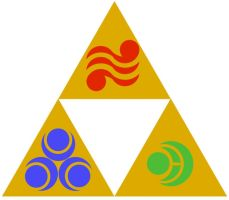 The Triforce by DigiTails