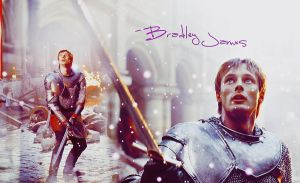 Bradley James by miu05